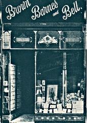 Shop Front, Liverpool Studio Photographer - Brown, Barnes and Bell, 31 Bold Street, c 1904 (ronramstew) Tags: shop liverpool portraits vintage studio photography photographer exterior front photographic 1904 1900s boldstreet brownbarnesandbell