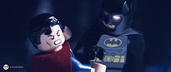 batman v superman (Young's Lego) Tags: movie photography photo justice dc lego superman hero batman vs legography