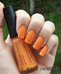 Esmalte P na Areia, da Avon. (A Garota Esmaltada) Tags: orange laranja nails nailpolish avon unhas esmaltes pnaareia agarotaesmaltada