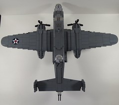 IMG_5530 (nelsoma84) Tags: tokyo lego north american mitchell bomber allies b25 raider doolittle usaaf