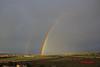 7,ARCO IRIS (patryelpego) Tags: verde arcoiris gris colores tormenta campo nublado zamora tierra doblearcoiris
