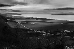 View over lake Vättern from Brahehus (AndreasNikon) Tags: blackandwhite bw ngc nikkor nocrop nocolor nohdr nikond600