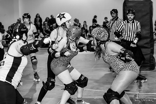 The Chicks Ahoy! vs The Gore Gore Roller Girls