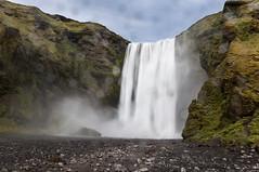 The real peace of mind is Skogafoss (Lorenzo Sedita) Tags: panorama nature water rain lens waterfall iceland nikon 10 wide sigma rainy 20 grandangolo cascata islanda skogafoss