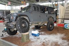 Land Rover Defender (Mc Steff) Tags: rover land defender retroclassicsmessestuttgart2015