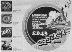 Checker Records - June 1973 (rchappo2002) Tags: music man records rock vintage john magazine ads bag newspaper concert 33 album label gig ad blues best retro tricks albums newport lee soul advert lp 70s waters bo another mad 1970s hooker seventies checker 1973 muddy sounds 73 dells rpm adverts lps diddley