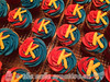 Superman Themed Cupcakes