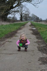 Copying daddy (N'GOMAPHOTOGRAPHY) Tags: countryside walk lincolnshire fields northborough marketdeeping daddydaughtertime etton