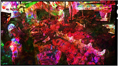 on a italian market (j.p.yef) Tags: venice people italy abstract market digitalart abstrakt yef peterfey bestcapturesaoi elitegalleryaoi jpyef