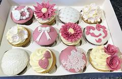 Dusky Vintage Cupcakes