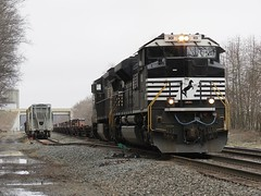 Norfolk Southern Chicago Line / MP 456 West (codeeightythree) Tags: ns siding spurtrack norfolksouthernrailroad rollingprairie rollingprairieindiana norfolksouthernchicagoline