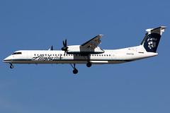 Horizon Air   Bombardier Q400   N427QX   Los Angeles International (Dennis HKG) Tags: plane canon airplane losangeles airport aircraft horizon 7d lax turboprop dash8 qx bombardier kalx planespotting q400 100400 horizonair qxe n427qx