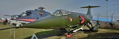 Lockheed F-104G Starfighter (HDR) (Bri_J) Tags: uk nikon fighter jet coventry lockheed hdr airmuseum coldwar f104 starfighter aviationmuseum midlandairmuseum danishairforce f104g warks d7200