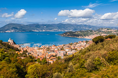 Golfo dei poeti (Antonio Casti) Tags: panorama italia mare liguria porto cinqueterre viaggio paesaggio lerici golfodeipoeti