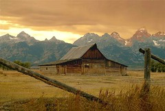 A Classic View (Wayne Nelson) Tags: old mountains classic landscapes barns grand wyoming tetons the