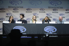 Ciara Rene, Brandon Routh, Caity Lotz & Franz Drameh (Gage Skidmore) Tags: california los angeles brandon center renee franz convention marc ciara legends guggenheim tomorrow caity routh wondercon 2016 lotz drameh