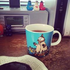 たまにはミムラかあさん、でインドの紅茶(ついでにオハギ)