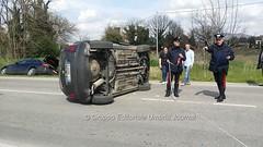 Incidente in via Hochberg a Bastia Umbra (20) (Gruppo Editoriale UmbriaJournal) Tags: bastia incidente
