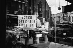 Lunch time special from King Street, Newtown (Albion Harrison-Naish) Tags: reflections sydney streetphotography australia olympus nsw newsouthwales newtown em5 sydneystreetphotography olympusem5 lumixg20f17ii albionharrisonnaish