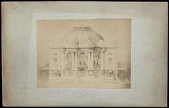 Un pavillon (1895-1900) (Université de Caen Normandie) Tags: architecte mrsh victorlaloux projetdarchitecture paulbigot écoledesbeauxartsdeparis fondspaulbigot