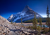 *** Mt. Robson.. Unconventional View *** (Marina Bass (back in NY)) Tags: ca morning camping autumn trees lake snow canada mountains reflection fall nature sunrise trekking reflections rockies outdoors nationalpark bc hiking britishcolumbia north tranquility peak lookout calm glacier fallfoliage pines backpacking mountaineering summit northamerica destination backcountry robson rockymountains serene range epic pristine mountrobsonprovincialpark environments canadianrockies torquoise glaciallake mistglacier