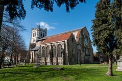 6/30 Warrior Prayer (John Penberthy LRPS) Tags: building church abbey nikon 630 essex walthamabbey d90 johnpenberthy