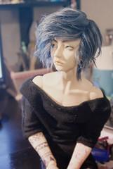 Fluffy (Kuro-K) Tags: handmade wig tasha cho migidoll