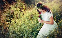 Ophelia 3 (Anjella Roessler) Tags: film loss death shakespeare nikonf100 romantic hamlet ophelia preraphaelite filmphotography petzval cinestill cinestill50d