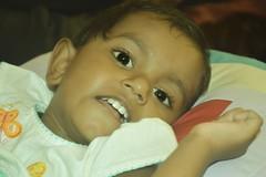 Hansi..... (Dilan (Sri Lanka)) Tags: portrait baby nikon like charm 1855mm nikkor beautifull hansi dilan colourfull d3200