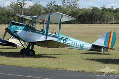 VH-ULM DE HAVILLAND DH-60M GIPSY MOTH (QFA744) Tags: de moth gipsy havilland dh60m vhulm