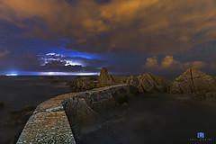 Storm night (Toni Iglesias ) Tags: storm night noche nikon girona nubes nocturnas cala rocas d610 canyet
