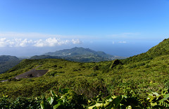 Soufrire, Guadeloupe - Panorama (GlobeTrotter 2000) Tags: travel sea panorama mountain tourism landscape island volcano visit guadeloupe basseterre soufriere volacano