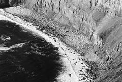 Cliff of Moher 09 (Ian Atrus Gazzotti  iangazzotti.com) Tags: ocean ireland sea blackandwhite bw water monochrome analog 35mm nikon cliffs bn moher biancoenero irlanda scogliere f70