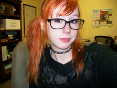not today (erinwilt) Tags: travel girls portrait people orange inspiration silly love me church girl beautiful self work canon hair fun photography glasses ginger office video model long flickr pretty geek grunge gothic emo models makeup indoor games christian redhead gaming stupid pigtails schoolgirl redhair geeky nerdy facebook gamers selfie halsey selfies instagram