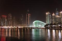 The Dubai Fountain (MadGrin) Tags: geotagged dubai uae unitedarabemirates are downtowndubai thedubaifountain burjkhalifa geo:lon=5527632100 geo:lat=2519567000