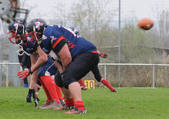 20160403_Avalanches Annecy Vs Falcons Bron (13 sur 51) (calace74) Tags: france annecy sport foot division falcons bron amricain avalanches rgional