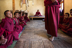 Study. Likir, India (Marji Lang Photography) Tags: life travel school red people india color boys colors kids children photography education colorful dof classroom buddhist documentary buddhism scene class depthoffield study monastery monks learning knowledge males educational teaching dailylife groupofpeople studying educate himalayas studies ladakh buddhistmonks recitation buddhistmonk travelphotography ladakhi jammuandkashmir likir redrobe littlemonks novices 2013 buddhistmonastery youngmonks childeducation likirmonastery buddhistculture buddhiststudies buddhistnovice documentaryimage severalpersons