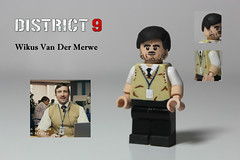 Lego Wikus - District 9 - 'Ah you sneaky fookin prawns ey..' (TheCampervanTom) Tags: man lego district 9 prawns sweetie wikus