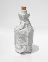 Mimicry (Goran Patlejch) Tags: white art bag design bottle czech object cork drinking hidden alcohol sin czechrepublic law porcelain wrapper prohibition opencontainer prokopchludil