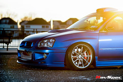 "WEDS Maverick 710S - Subaru STI 04 Blue • <a style=""font-size:0.8em;"" href=""http://www.flickr.com/photos/64399356@N08/26448446806/"" target=""_blank"">View on Flickr</a>"