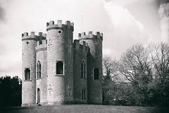 Blaise Castle (ChloeGilbert) Tags: uk blackandwhite bw castle monochrome bristol blaise