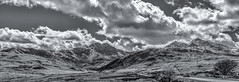 Snowdonia (Dancin K & H) Tags: park bw panorama white black wales adams north national snowdon snowdonia ansel