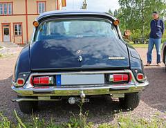 1974 Citroen DS 23  M Pallas (crusaderstgeorge) Tags: 1974 sweden citroen ds gvle m 23 sverige iconic pallas frenchcars jrnvgsmuseum blackcars jrnvgsmuseet 1974citroends23mpallas