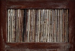 This is a Stick up (Grooover) Tags: fence suffolk sticks panel branches screen twigs walberswick grooover