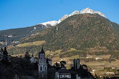 typical South Tyrol (werner boehm *) Tags: italy kirche berge sdtirol southtyrol meran