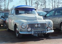 1963 Volvo PV544 (peterolthof) Tags: volvo pv544 sidecode1 26032016 klassiekerbeursdrachten dm6549