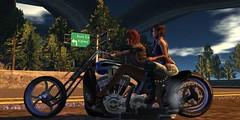 Road Trip (Carla Putnam) Tags: road trip bike women highway sl mc motorbike riding motorcycle