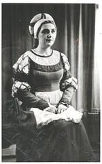 DEULIN, Eglantine, Marguerite, Faust (Operabilia) Tags: marguerite autographe soprano faust monnaie gounod eglantinedeulin claudepascalperna