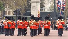 band of the welsh guards 22 04 2016 (philipbisset275) Tags: unitedkingdom centrallondon cityofwestminster spurroad englandgreatbritain bandofthewelshguards 22042016
