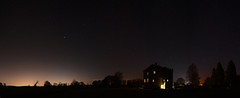 Hellifield Peel at Night (Simon Caunt) Tags: panorama castles buildings panoramic restoration largeformat channel4 c4 wideview buildingsatrisk karenshaw granddesigns wideformat architevture kevinmccloud nikond800 hellifieldpeel francisshaw widefieldpanorama